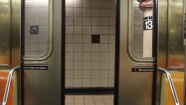 Subway Doors New York City & subway doors closing stock footage | Nimia.com
