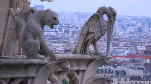 gargoyles in france